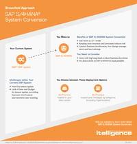 SAP S/4HANA System Conversion infographic thumbnail.